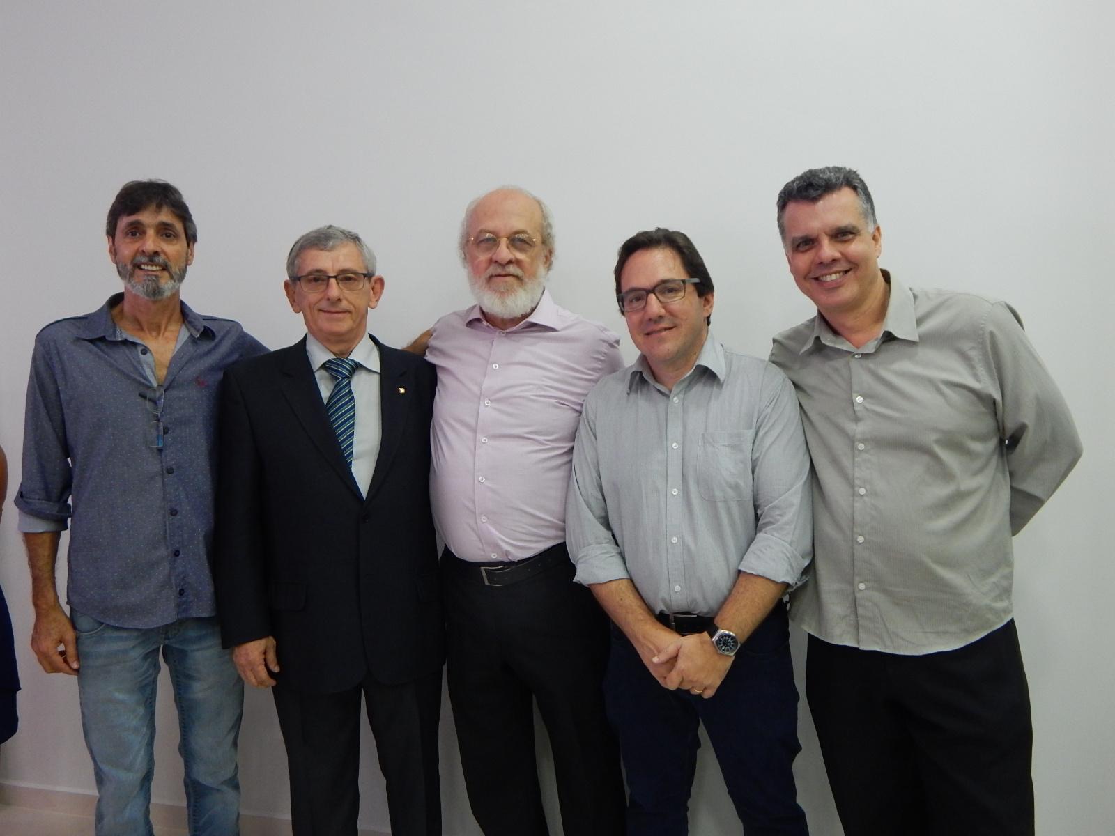 Angelo, Cassio, Miguel Chibani, Toninho da Lorsa e