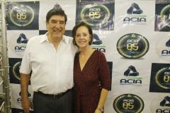 Irany Lamar (ex-presidente da ACIA) e sua esposa Rita