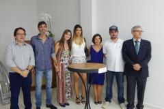 Toninho, angelo, Sueli, Catarina, Angela, Jamil e Cassio